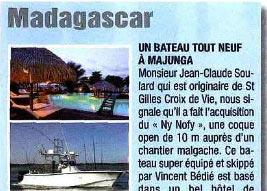 Voyage de pêche juin/juill 2012