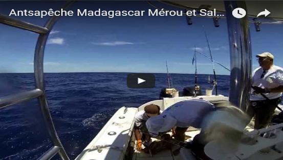 Antsapêche Madagascar Mérou et Salsa pour Fabrice Amar !…